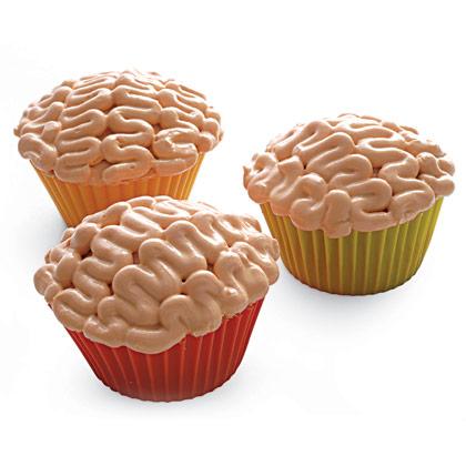 Brain Cupcakes   My Blog