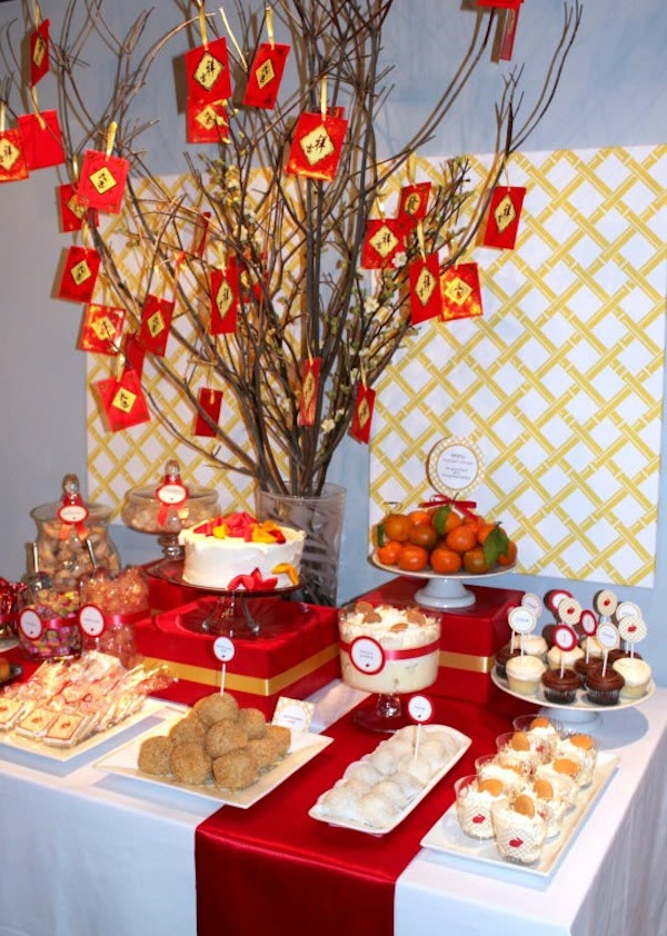 How to make a dessert table backdrop my blog for Academy of oriental cuisine